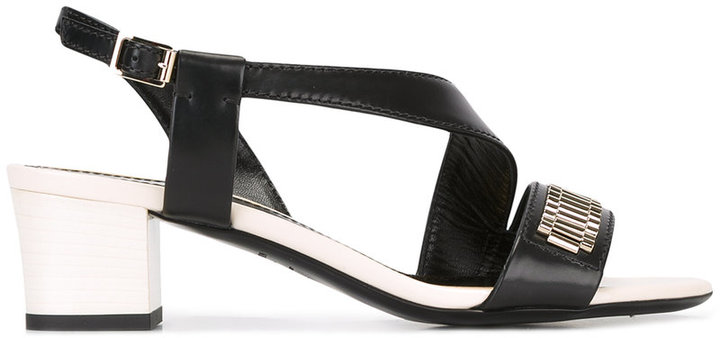 Lanvin block heel sandals