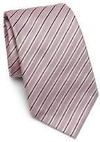 Armani Collezioni Silk Striped Tie
