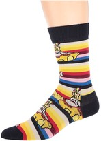 Happy Socks Beatles All On Board Sock (Rainbow) Men's Crew Cut Socks Shoes