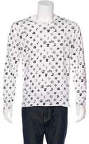 Lucien Pellat-Finet Printed Scoop T-Shirt