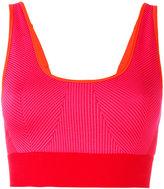 adidas by Stella McCartney ribbed classic sports bra - women - Polyamide/Polyester/Spandex/Elastane - XS