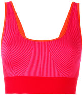 adidas by Stella McCartney ribbed classic sports bra