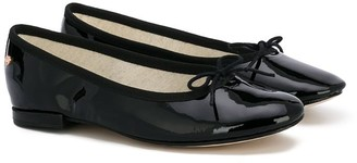 Repetto Varnished Bow Ballerina Shoes