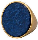 Pilgrim Conscious Rostone Goldplated Statement Ring