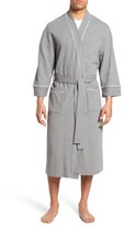 Majestic International Men's Waffle Knit Robe