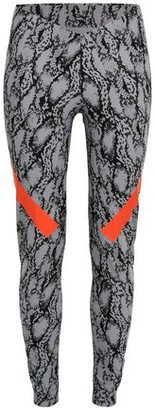 adidas by Stella McCartney Alphaskin 360 Snake-print Climachill Leggings