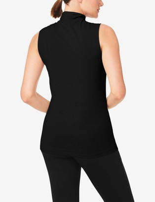 Tommy John Women's Go Anywhere Quick-Dry Sleeveless Mockneck Tee