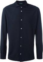 Zanone spread collar shirt - men - Cotton - 56