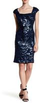 Marina Sleeveless Sequin Dress
