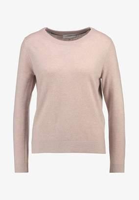 Selected Cashmere Jumper - pink - Grey/Pink/Grey