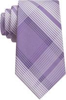 Calvin Klein Men's Luxe Grid II Tie