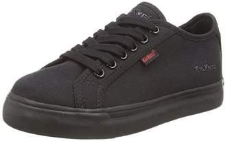 Kickers Tovni Lacer Junior, Boys Low-Top Sneakers, Black (Black), (31 EU)