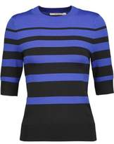 J Brand Orchid Striped Stretch-Knit Sweater