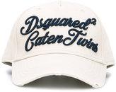 DSQUARED2 Caten Twins cursive baseball cap - men - Cotton - One Size