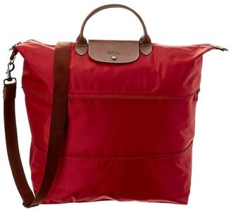 Longchamp Le Pliage Nylon & Leather Travel Bag