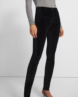 J Brand Maria High-Rise Skinny Jean in Velvet