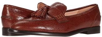 J.Crew Crackle Tassel Loafer (Warm Sepia) Women's Shoes
