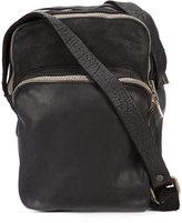 Guidi three zipper camera bag - unisex - Horse Leather - One Size