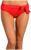 Tommy Bahama Pearl Solids High Waist Bikini Pant With Tie