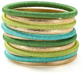 RJ Graziano Multi Set Bangle Bracelets, Set of 12