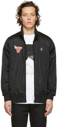Marcelo Burlon County of Milan Black NBA Edition Chicago Bulls Zip-Up Jacket