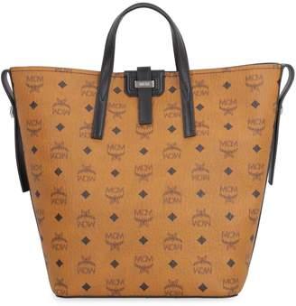 MCM Gunta Leather Tote Bag