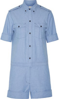 Etoile Isabel Marant Wei cotton-chambray playsuit