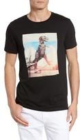 BOSS ORANGE Men's Tintype 4 Graphic T-Shirt