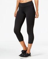 Calvin Klein Logo Capri Leggings
