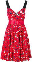 Marc Jacobs embroidered dress - women - Silk/Cotton/Polyurethane/Spandex/Elastane - 4