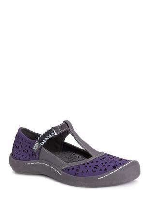 Muk Luks Women's Women's Samantha Sport Shoe-Purple Sandal