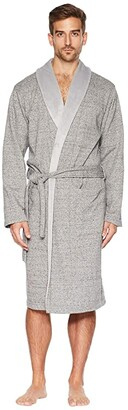 UGG Robinson Robe (Black Heather) Men's Robe