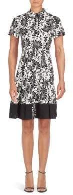 Shoshanna Floral Campbell A-line Dress