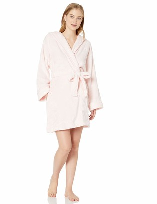 Tommy Hilfiger Women's Plush Soft Bathrobe Warm Textured Sleep Lounge Pajama Robe