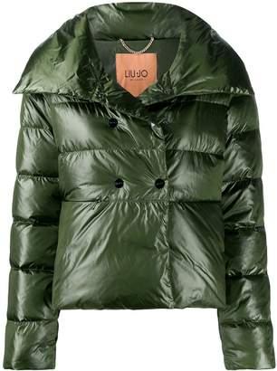 Liu Jo double-breasted puffer jacket