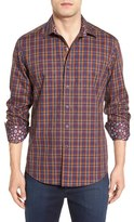 Robert Graham Men's 'Lando' Classic Fit Plaid Sport Shirt