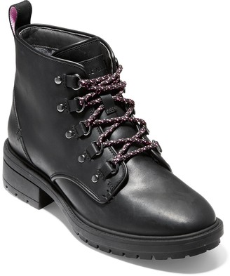 Cole Haan Briana Grand Lace-Up Waterproof Leather Boot