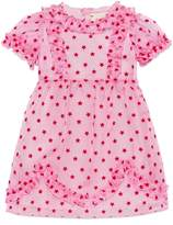 Gucci Baby silk stars flock dress