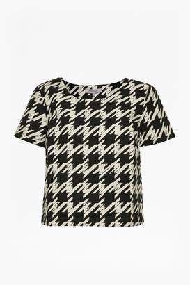 Great Plains Pistol Houndstooth Cotton Top