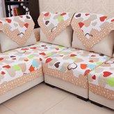 JN Sofa mats slp sofa cushons,fabrc cushon cotton sofa cover,european smple modern mat