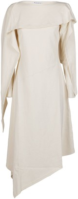 J.W.Anderson Draped Asymmetric Dress