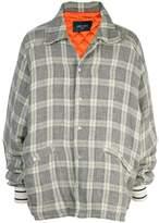 Lost Daze plaid shirt jacket