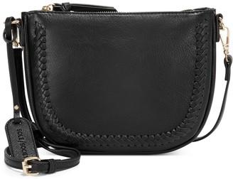 Sole Society Women's Riza Crossbody Vegan Leather Black One Size From