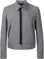 Wooyoungmi zipped shirt jacket - men - Mohair/Wool - 48
