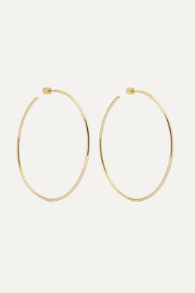 "Jennifer Fisher 3"" Thread Gold-plated Hoop Earrings"