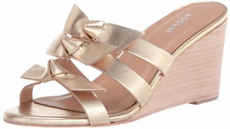 Kaanas womens Recife Wedge with Bows Wedge Sandal