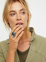 Free People Mirror Orbit Stone Ring