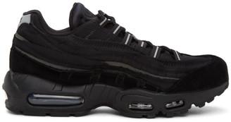 Comme des Garçons Homme Plus Black Nike Edition Air Max 95 Sneakers