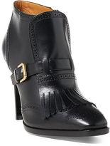 Ralph Lauren Lansy Luxe Calfskin Boot