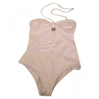 Christian Dior White Synthetic Swimwear